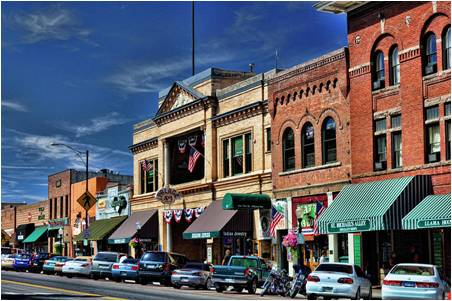 Prescott town scene